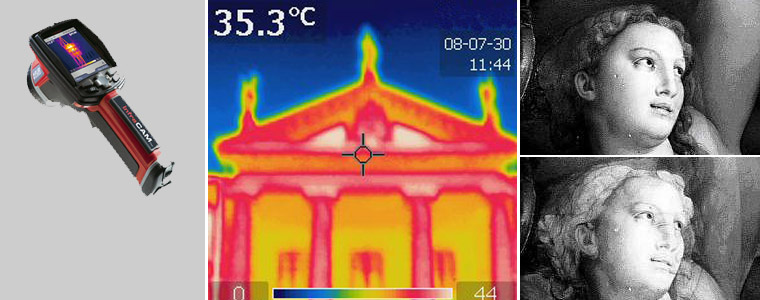 Infrared reflectography, Thermo cameras